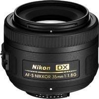 Nikon AF-S DX NIKKOR 35mm f/1.8G Fixed Zoom Lens with Auto Focus for Nikon DSLR Cameras