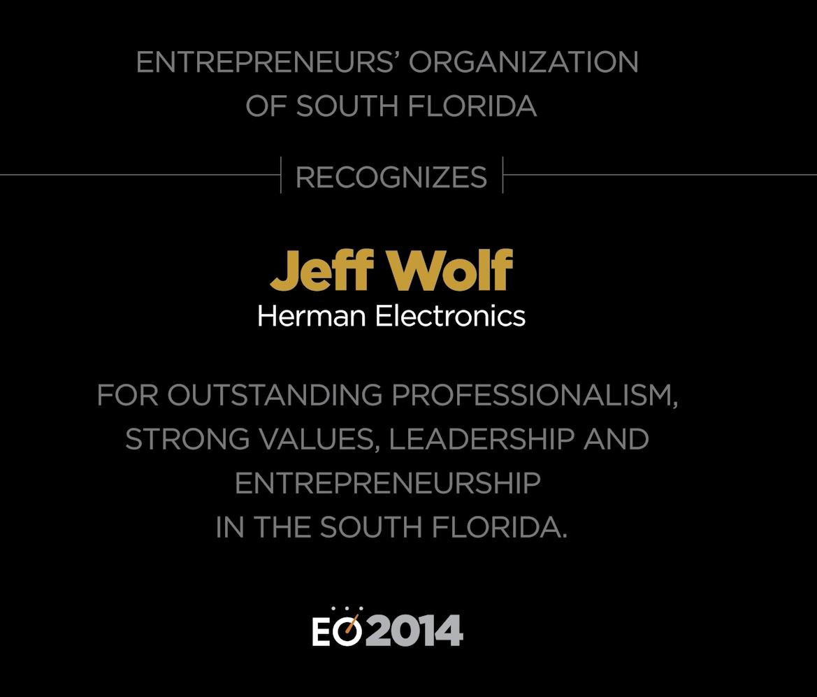 Jeffrey Wolf - 2014 Interview
