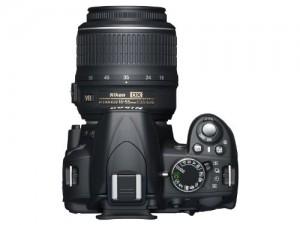 Nikon D3100 14.2MP Digital SLR Camera 2 Lens Kit